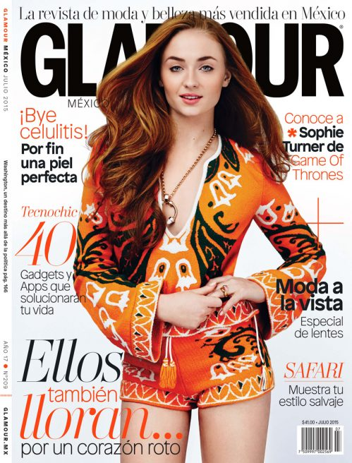Sophie Turner – Glamour Mexico