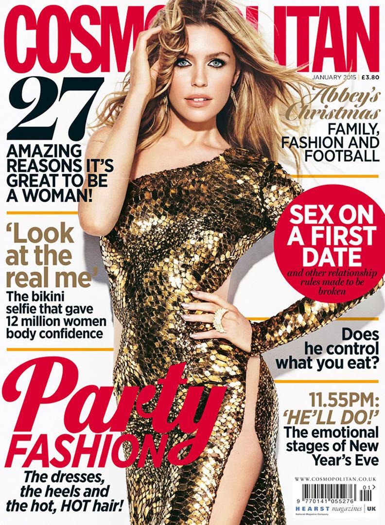 Abbey Clancy - Cosmopolitan UK