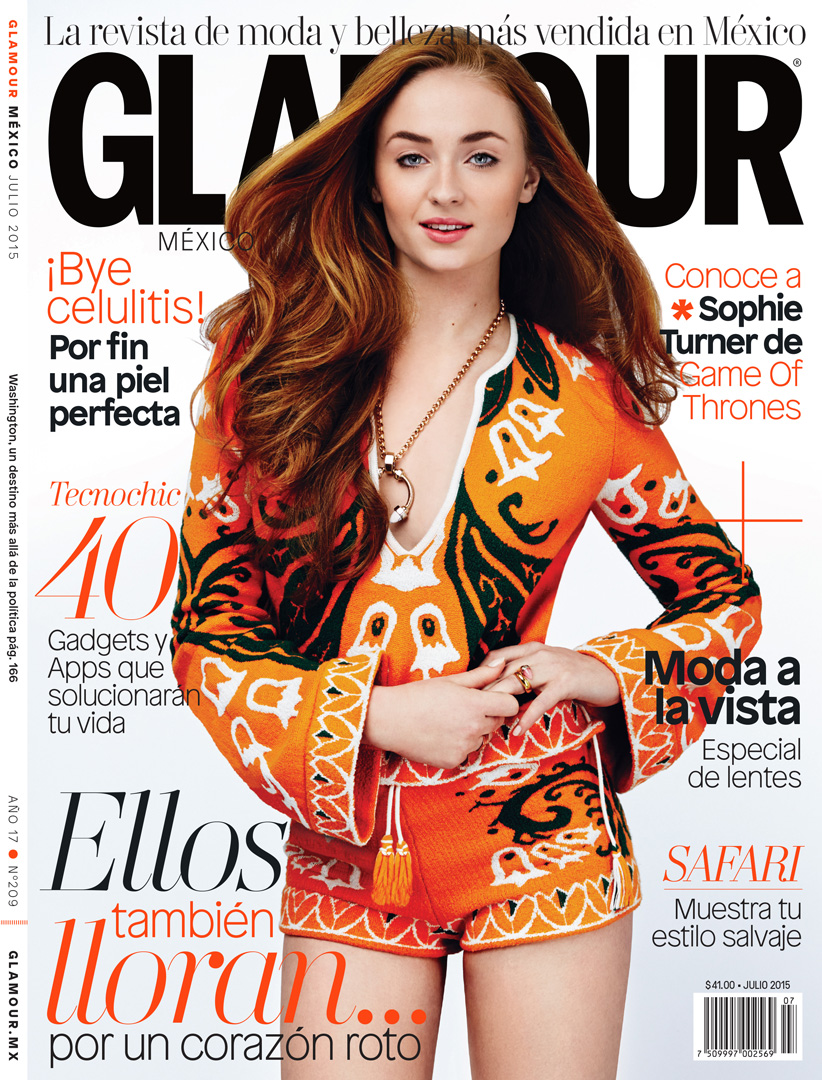 Sophie Turner - Glamour Mexico