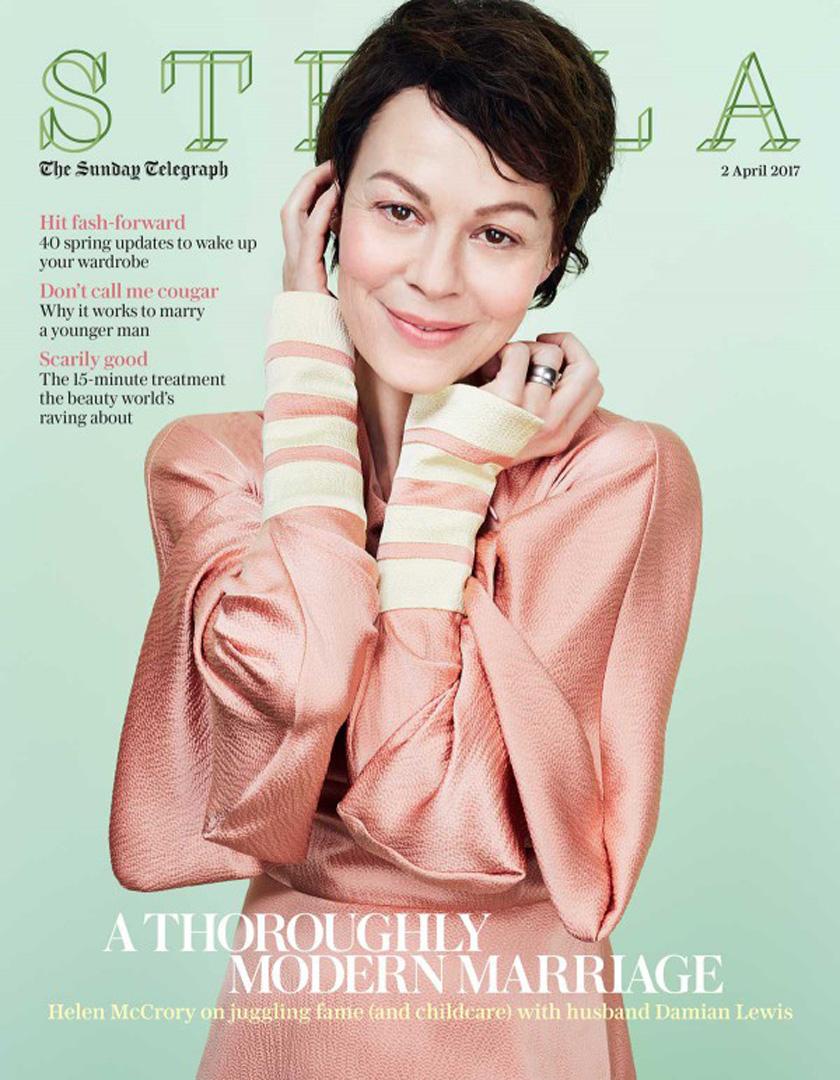 Helen McCrory - Stella Magazine