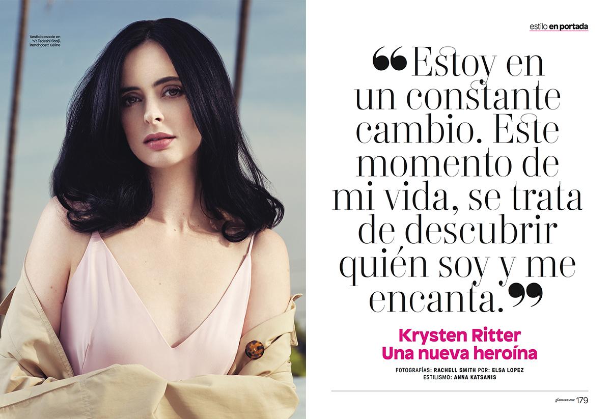Krysten Ritter - Glamour Mexico