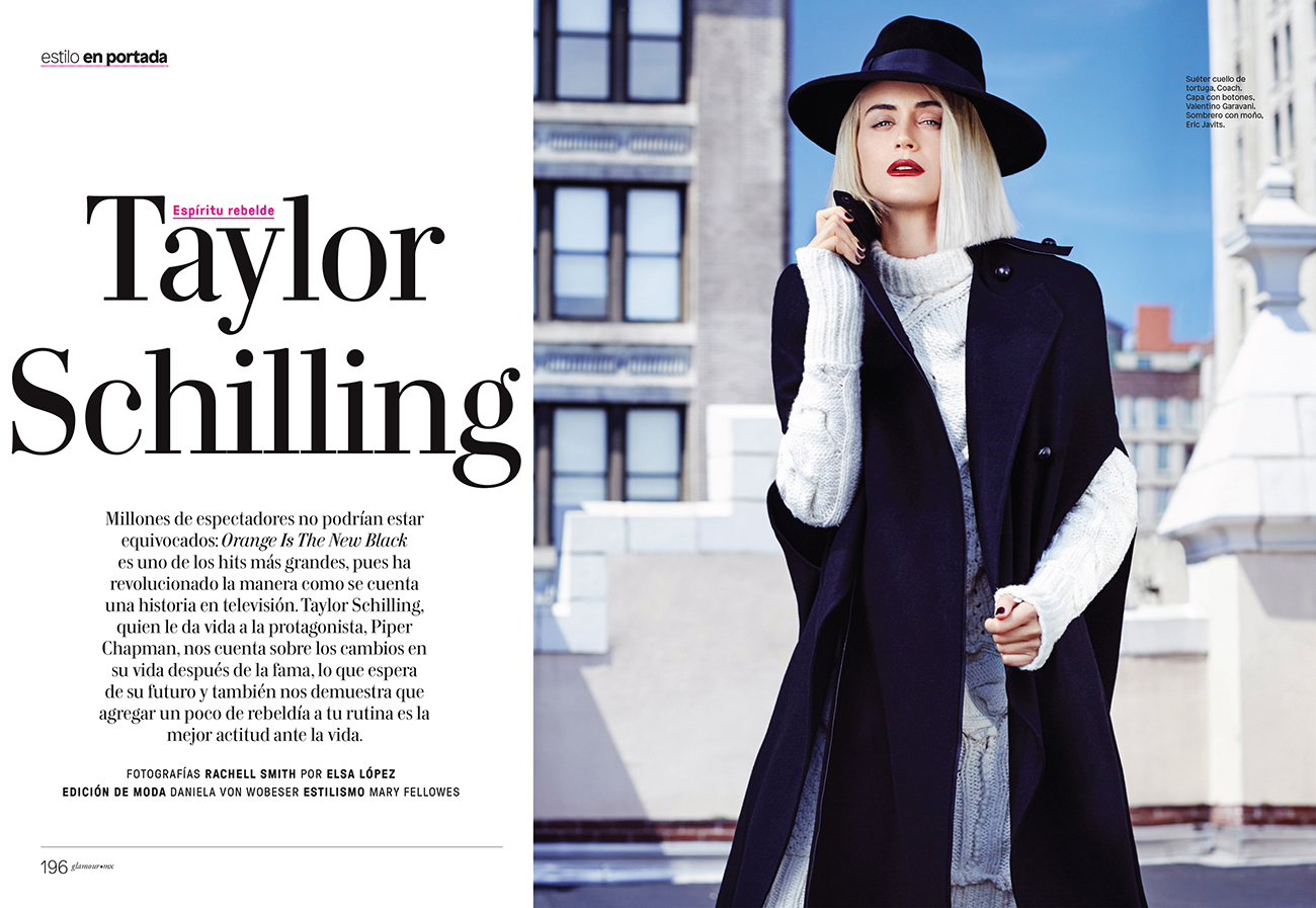 Taylor Schilling - Glamour Mexico