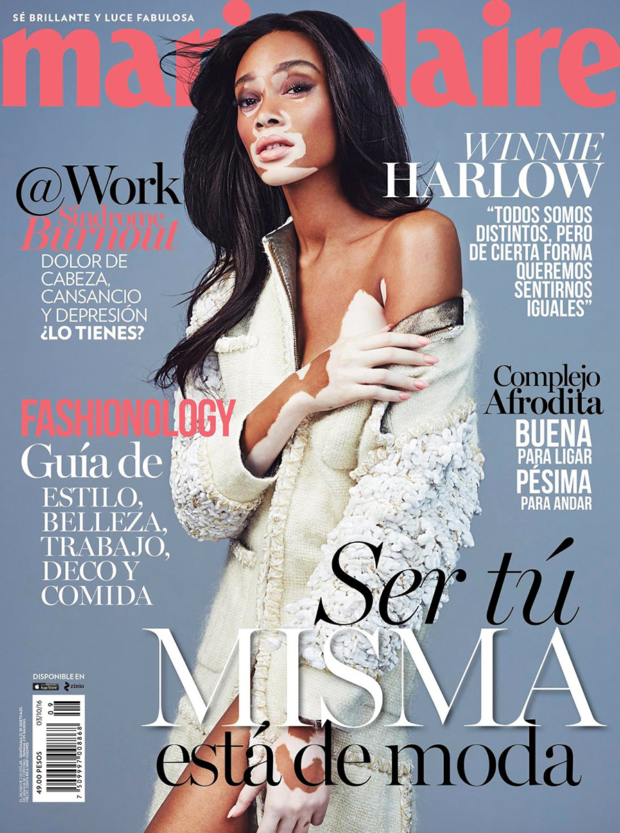 Winnie Harlow - Marie Claire Mexico
