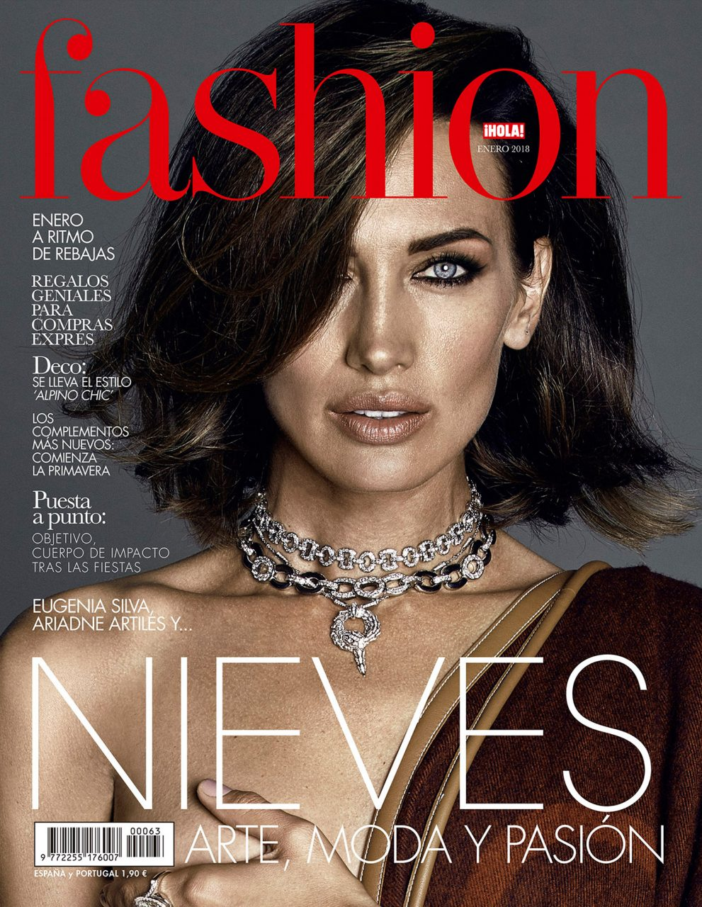 Cactus Retouch cover Nieves Alvarez Hola Fashion 1