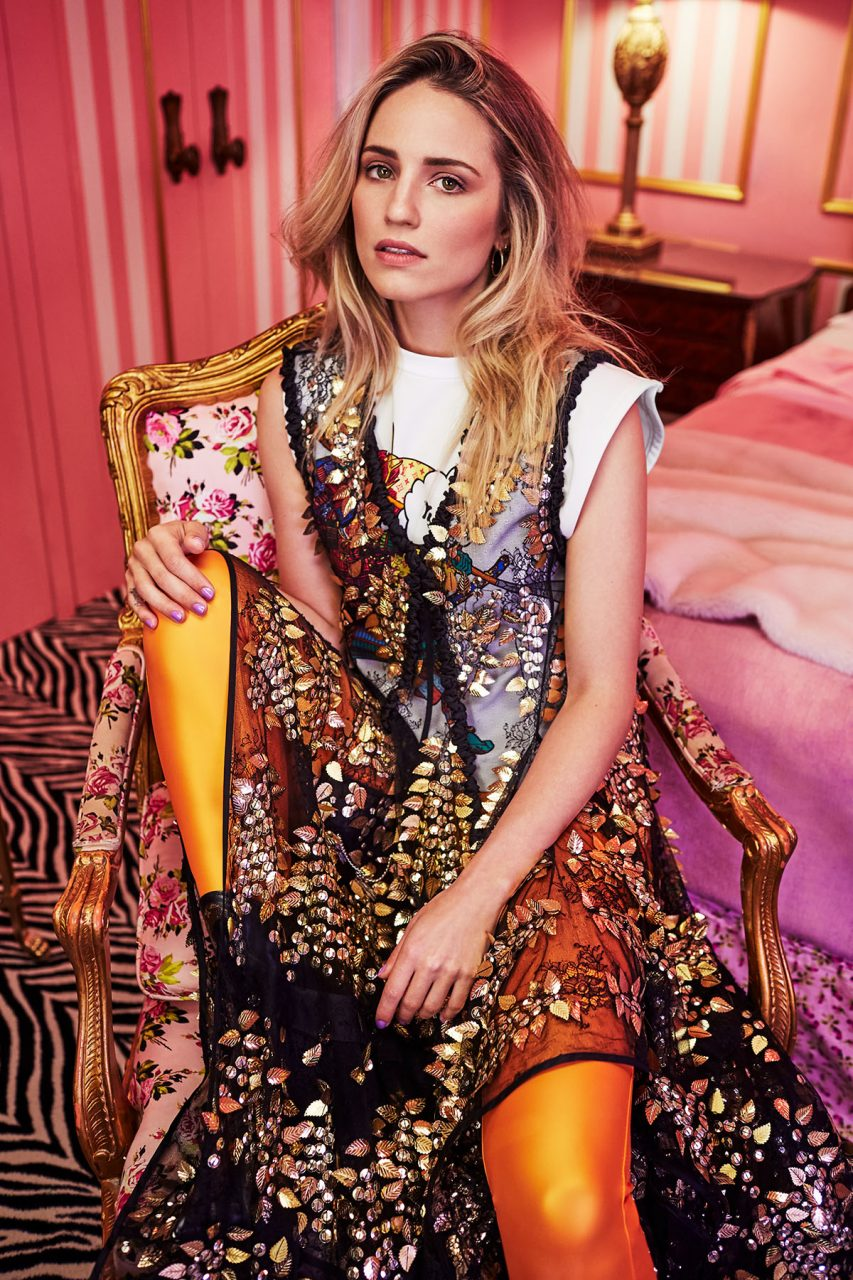 Cactus Retouch editorial Dianna Agron Harper's Bazaar Malaysia 2