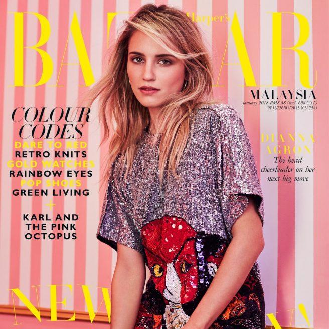 Dianna Agron – Harper's Bazaar Malaysia