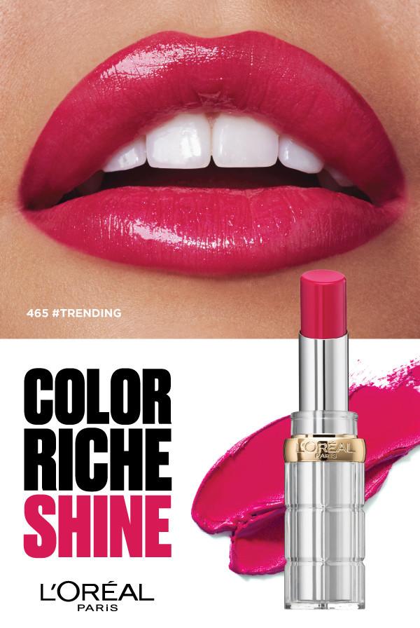Cactus Retouch l'Oréal Paris Campaign lipstick 1