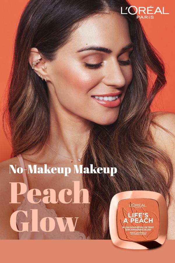 Cactus Retouch l'Oréal Paris Makeup campaign 1